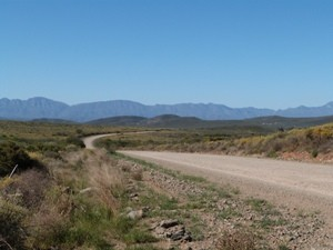 Südafrika - Landschaft bei Robertson - Südafrika Gruppenreise