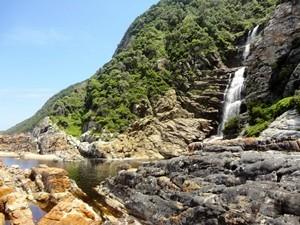 Wasserfall im Tsitsikamma Nationalpark