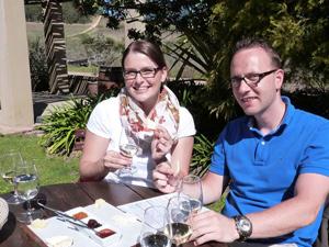 Machen Sie eine Weinprobe mit Käse - Weinregion Südafrika