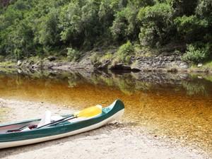 Kanutour auf dem Touws River