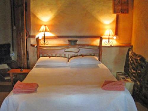 Schlafzimmer im Bergcottage
