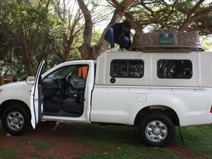 Südafrika - unterwegs mit dem Geländewagen mit Dachzelt in Südafrika und Mosambik