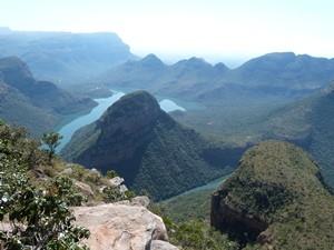 Ausblick auf den Blyde River Canyon