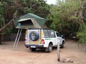 Mosambik - Campingplatz Xai Xai - Südafrika und Mosambik