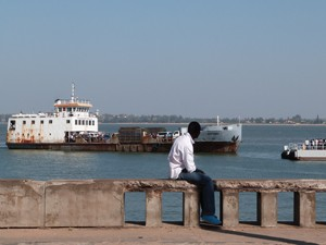 Mosambik - Fähre in Maputo - Südafrika und Mosambik