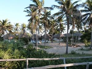 Mosambik-Strandunterkunft