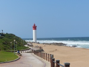 Strandpromenade in Umhlanga bei 3 Wochen Südafrika Rundreise