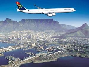 Südafrika - Kapstadt - Flugzeug - Südafrika Rundreise 3 Wochen