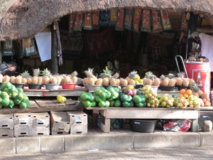 Markt in St. Lucia bei Südafrika Rundreise 3 Wochen