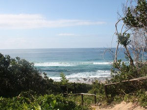 Mosambik - Ponta D'Ouro - Ausblick auf das Meer - Südafrika und Mosambik