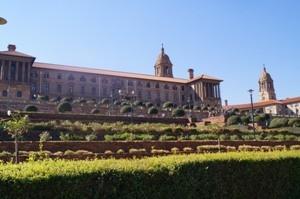 Südafrika - Pretoria - Union Building - Südafrika und Mauritius