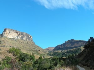Wanderwege in den Drakensbergen