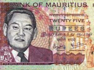 Währung auf Mauritius