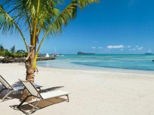 Segeln Mauritius - Strand vom Zilwa Attitude