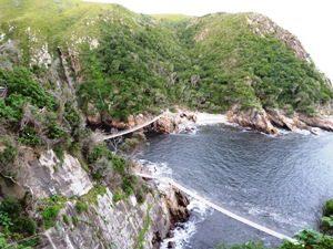 Südafrika - Tsitsikamma Nationalpark - Hängebrücke