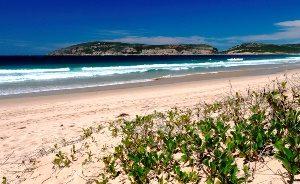 Südafrika - Plettenberg Bay - breite Sandstrände