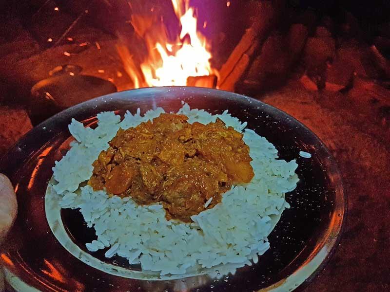 Swasiland - Abendessen