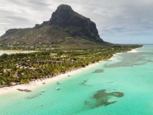 Mauritius - Blick aus der Luft - Südafrika und Mauritius