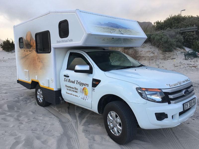 Camper Südafrika Rundreise im Ford Ranger