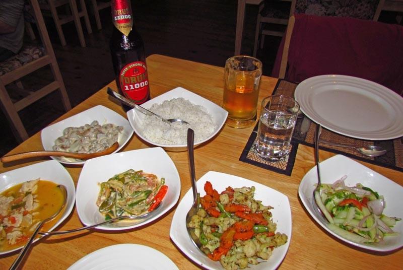 Essen und Druk Lager Bier