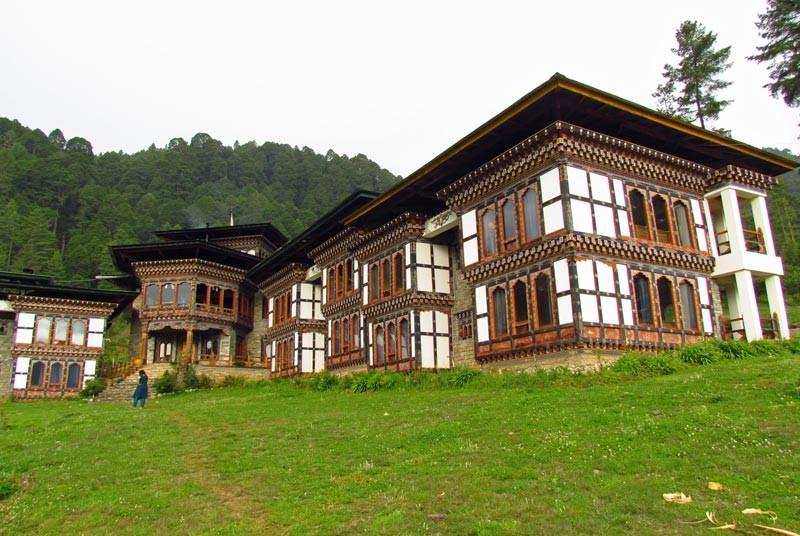 Ihr komfortables, rustikales Hotel im Phobjikha Tal