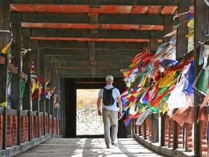Brücke Bhutan Trekking Reise
