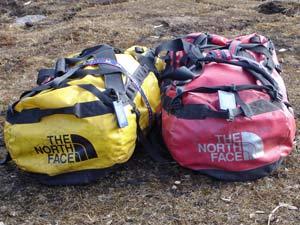 Gepäck für das Trekking