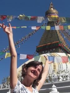 Kathmandu ist der erste Stopp der Bhutan und Nepal Reise