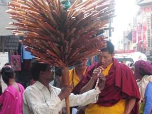 Shoppingtour Kathmandu Bhutan Nepal Reise