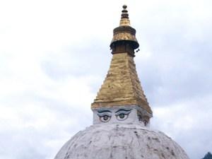 Tempel mit Augen
