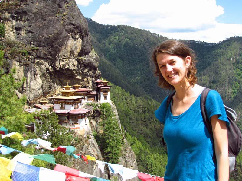 Tigernest Tempel Paro Bhutan Reise