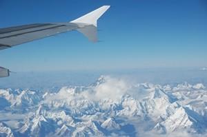 Hoch über dem Mount Everest