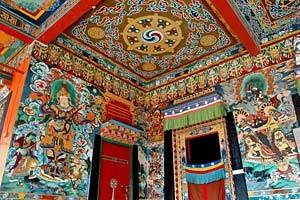 Kloster in Gangtok bei Bhutan Sikkim Reisen
