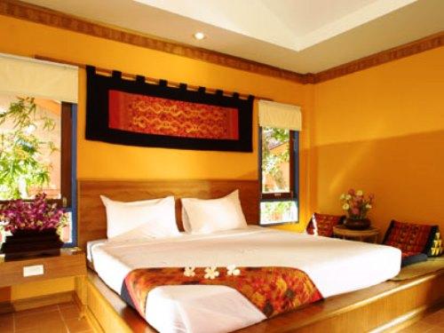 Hotelzimmer auf Koh Samui in Thailand