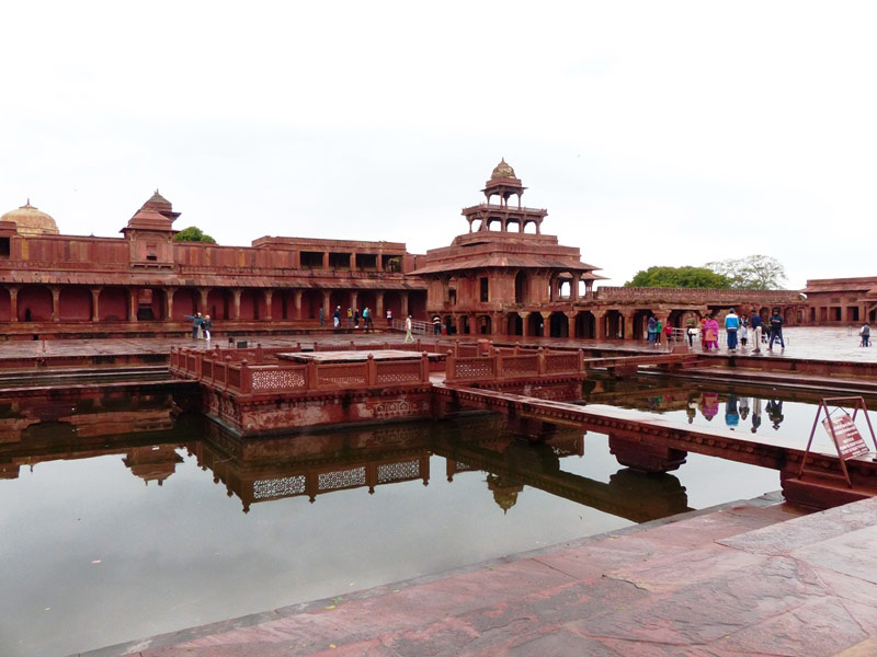 Fatehpur Sikri bei Agra in Indien