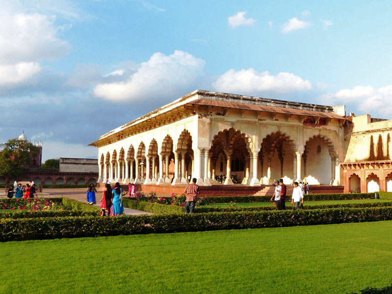 Agra Fort in Indien