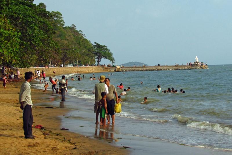 Der Strand von Kep