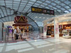 Flughafen in Bangkok