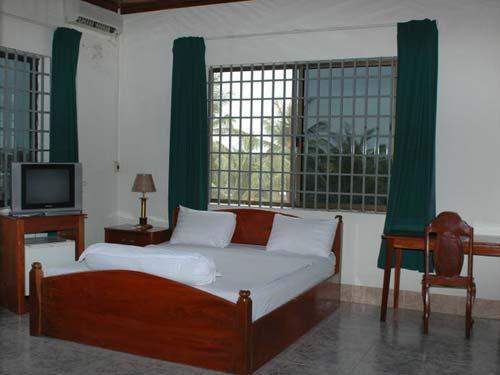 Zimmer im Hotel in Kratie