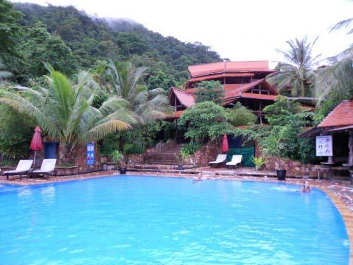 Pool in Kep