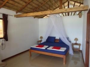 Einfaches Zimmer auf der Insel