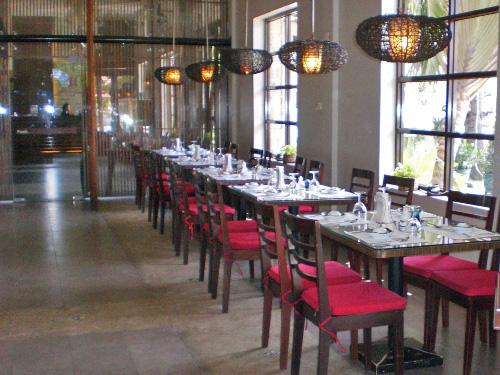 Hotelrestaurant in Phnom Penh