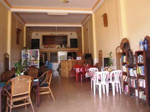 Das Hotelrestaurant in Stung Treng
