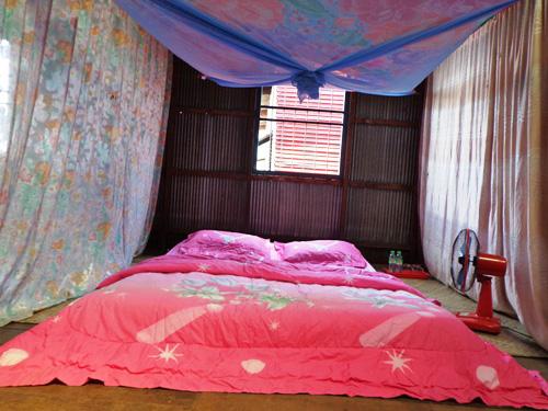 Einfaches Gästebett