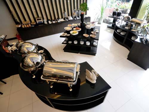 Ausgiebiges Frühstückbuffet im Hotel