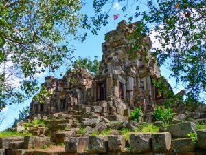 Wat Ek Phnom - Tempel am Ortsrand von Battambang