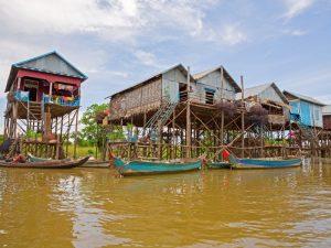 Der Tonle Sap See in der Umgebung von Siem Reap