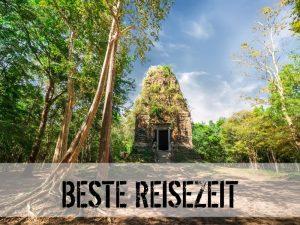 Alte Tempelruine in Kambodscha