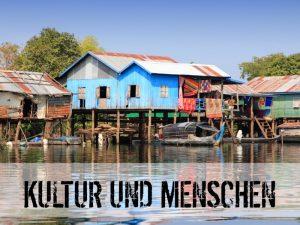 Stelzenhäuser in Kambodscha