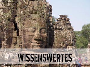 Steingesichter bei Angkor Wat